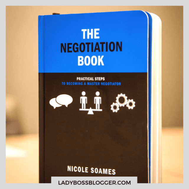 the negotiation book ladybossblogger