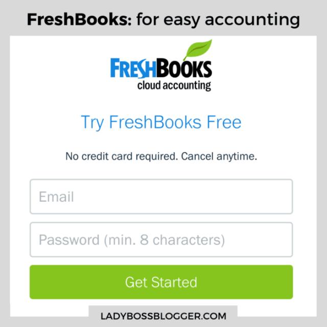 freshbooks ladybossblogger