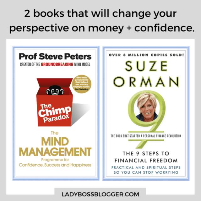 books on money and confidence ladybossblogger