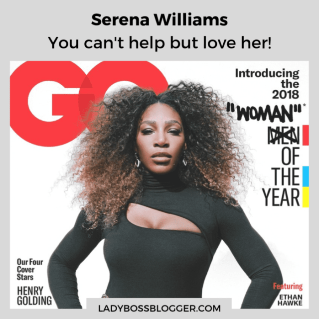 serena williams magazine cover GQ ladybossblogger