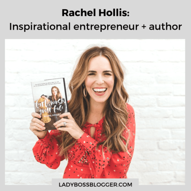 Rachel Hollis ladybossblogger