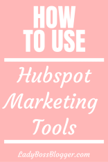 How To Use Hubspot Marketing Tools