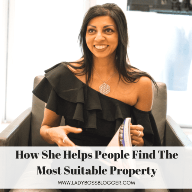 Lisa Patel Helps People Find The Most Suitable Property