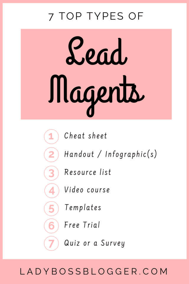 top lead magnet examples ladybossblogger