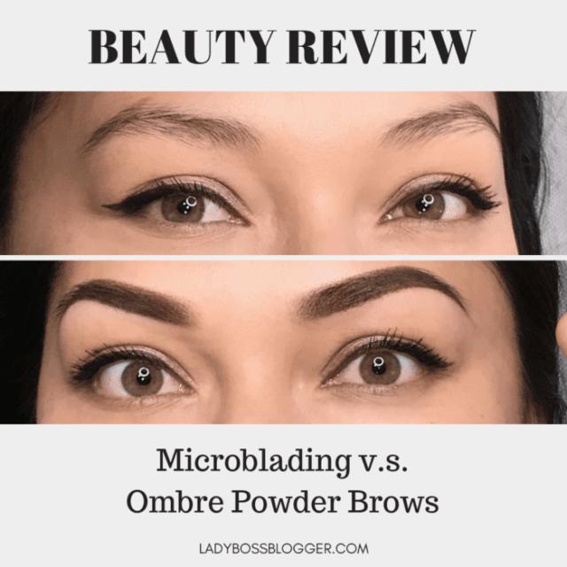 Microblading v.s. Ombre Powder Brows