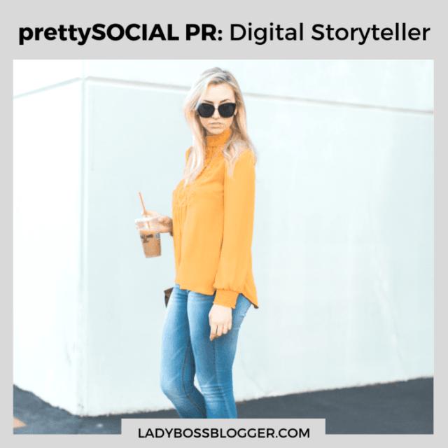 Pretty Social PR Jamie Halper interview on ladybossblogger