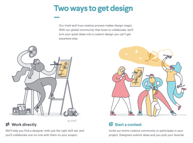 99designs design a free logo ladybossblogger