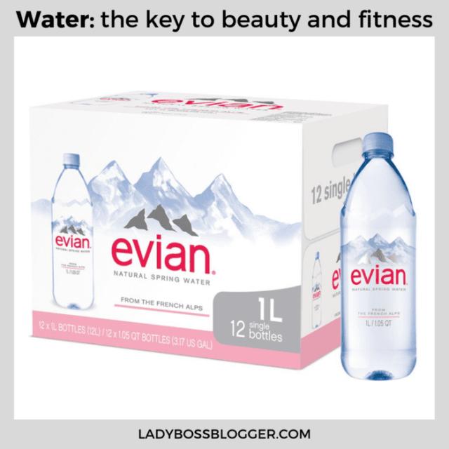 evian water ladybossblogger