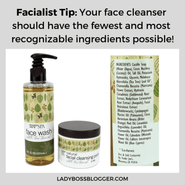 trader joe's face wash ladybossblogger