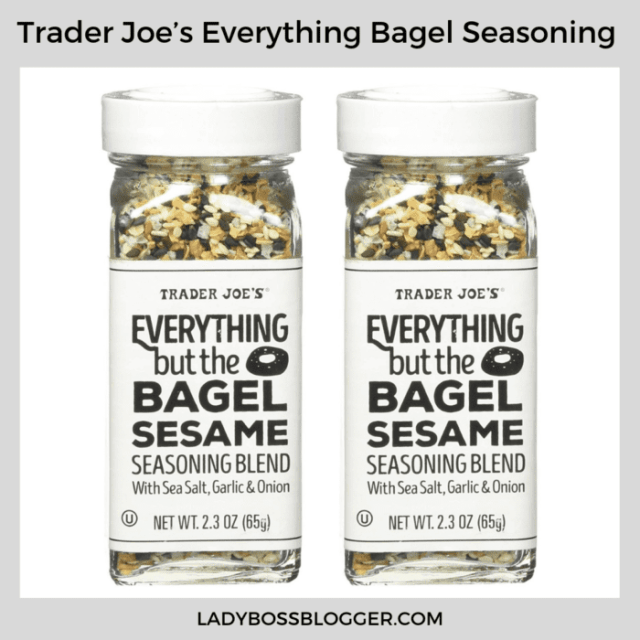 trader joes everything but the bagel seasame ladybossblogger