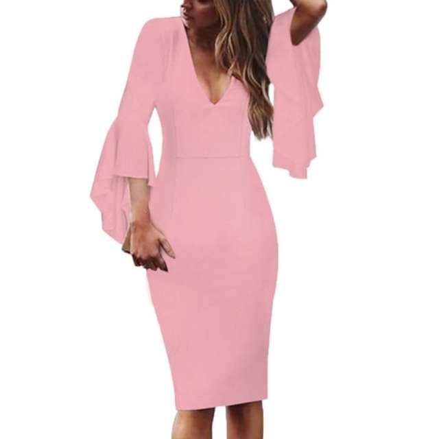 ladybossblogger shop pink business dress