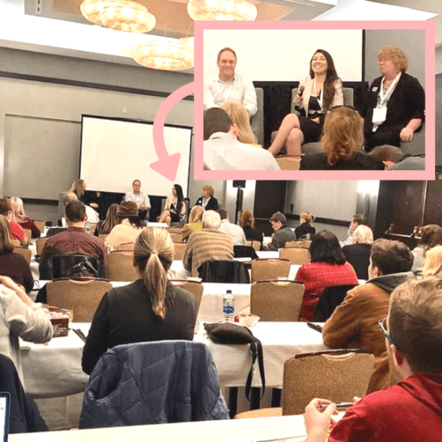 elaine rau panel speaker guest speaker ladybossblogger