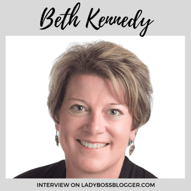 Beth Kennedy interview ladybossblogger