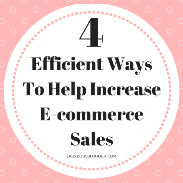 Increase E-commerce Sales