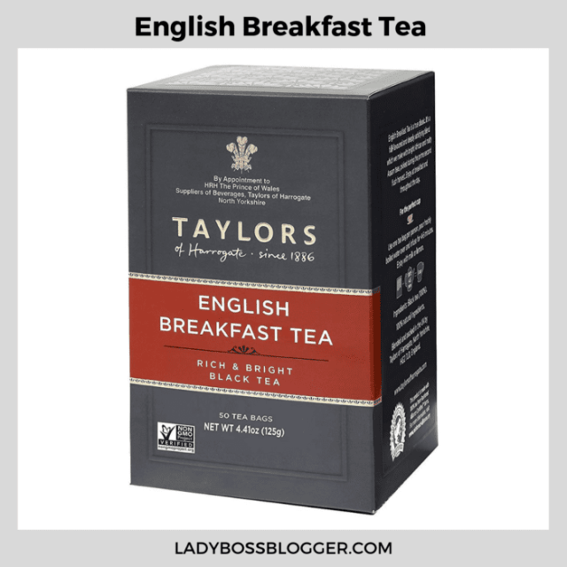 english breakfast tea ladybossblogger