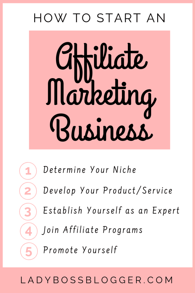 Affiliate Marketing Business LadyBossBlogger.com