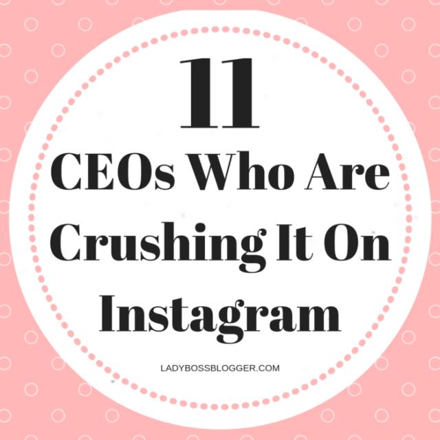 ceos crushing instagram
