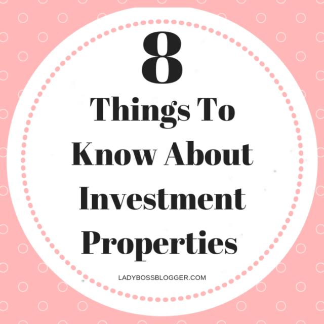 Investment properties LadyBossBlogger.com