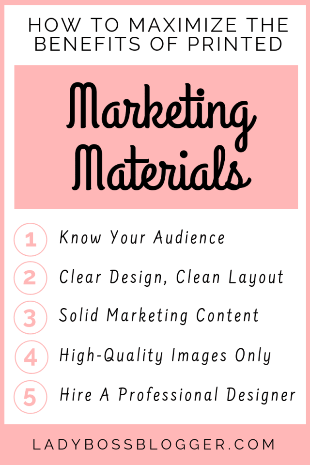 Marketing Materials LadyBossBlogger.com