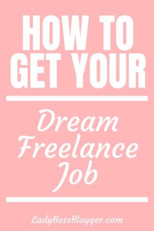 Freelance Job LadyBossBlogger.com