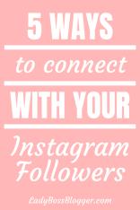 Instagram Followers ladybossblogger