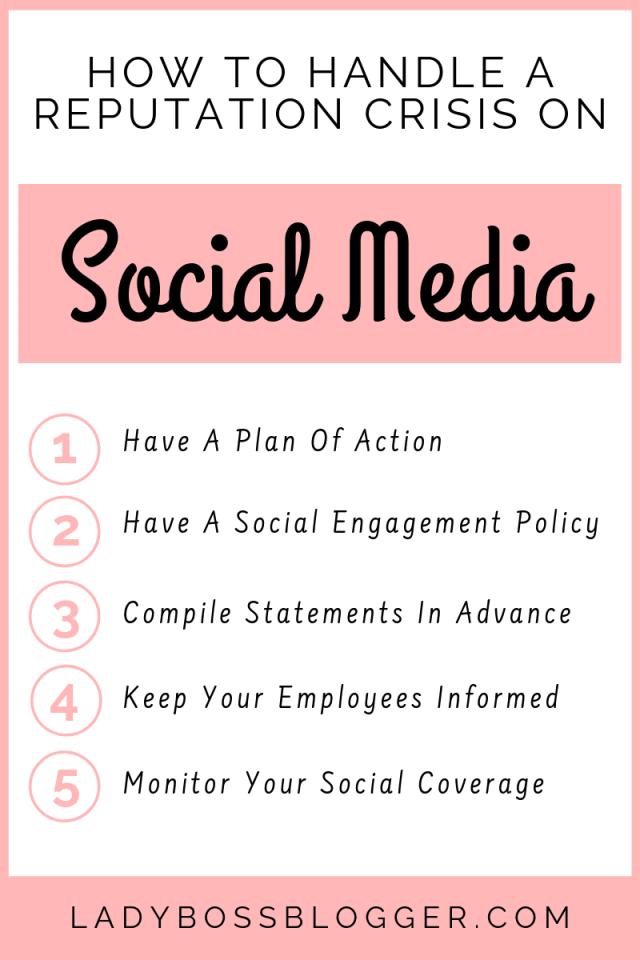 reputation on social media LadyBossBlogger.com