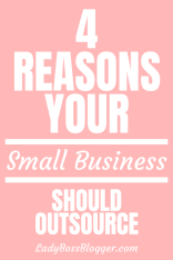 Small Business Should Outsource