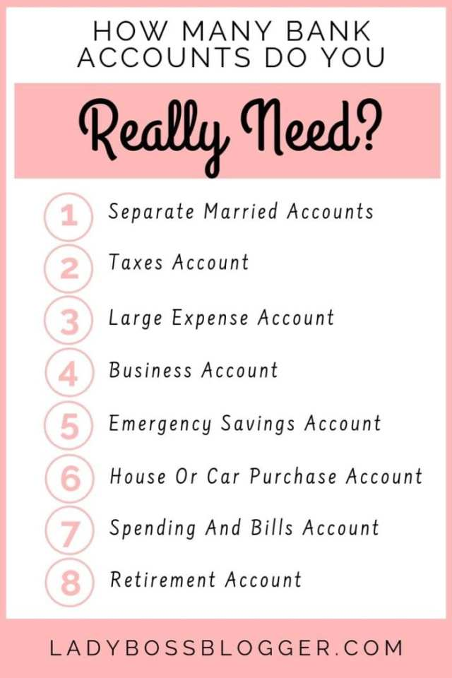 bank accounts LadyBossBlogger.com