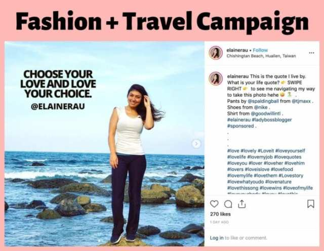 elaine rau influencer campaigns 1