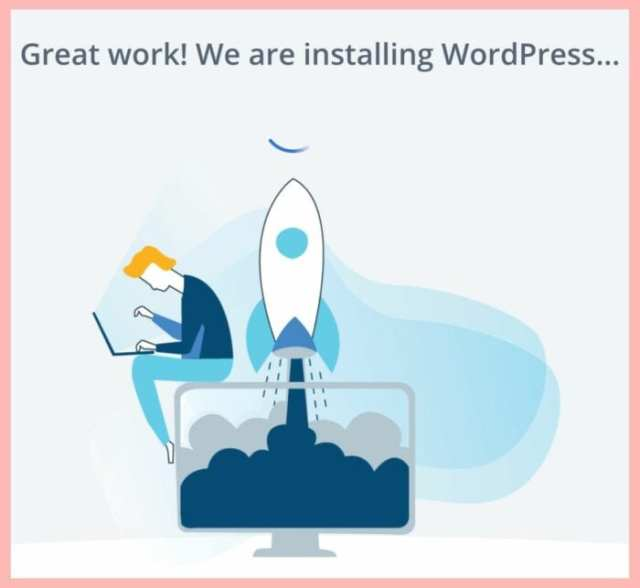 installing wordpress bluehost ladybossblogger