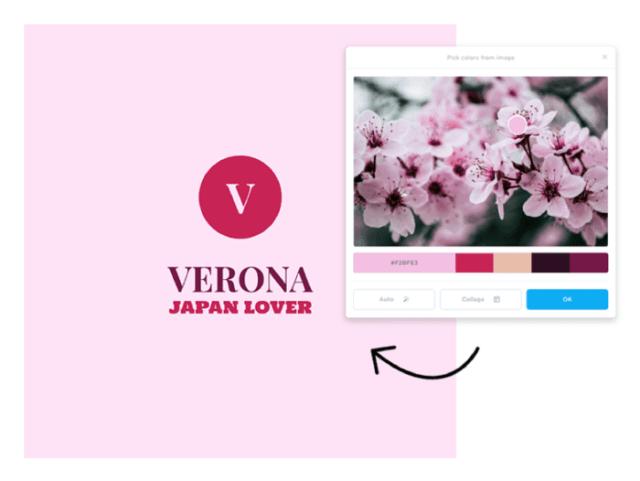 logo design example ladybossblogger