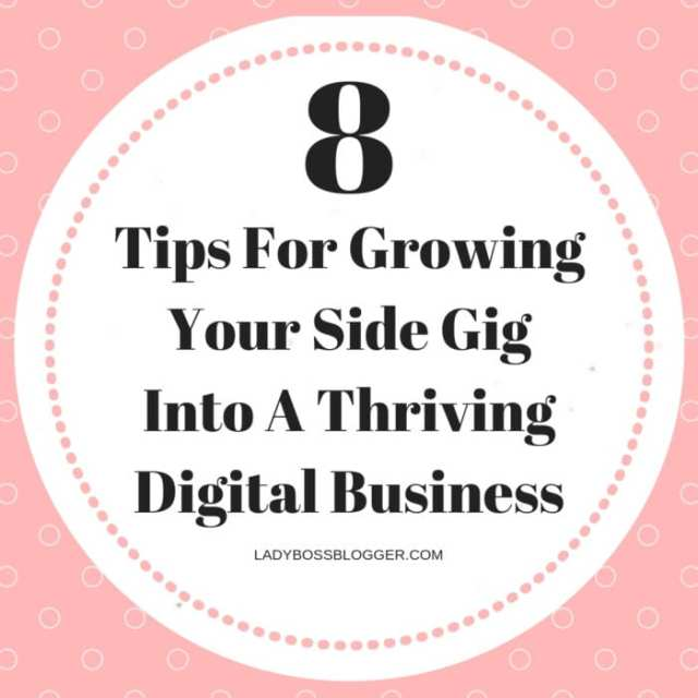 Side Gig Into A Thriving Digital Business