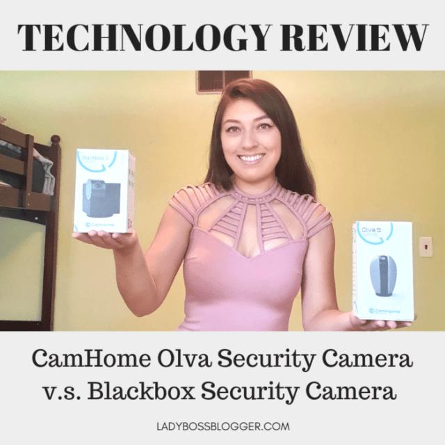 CamHome Olva Security Camera v.s. Blackbox Security Camera