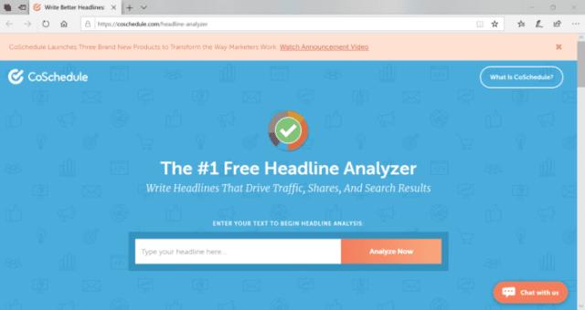 Analyze Your Headlines