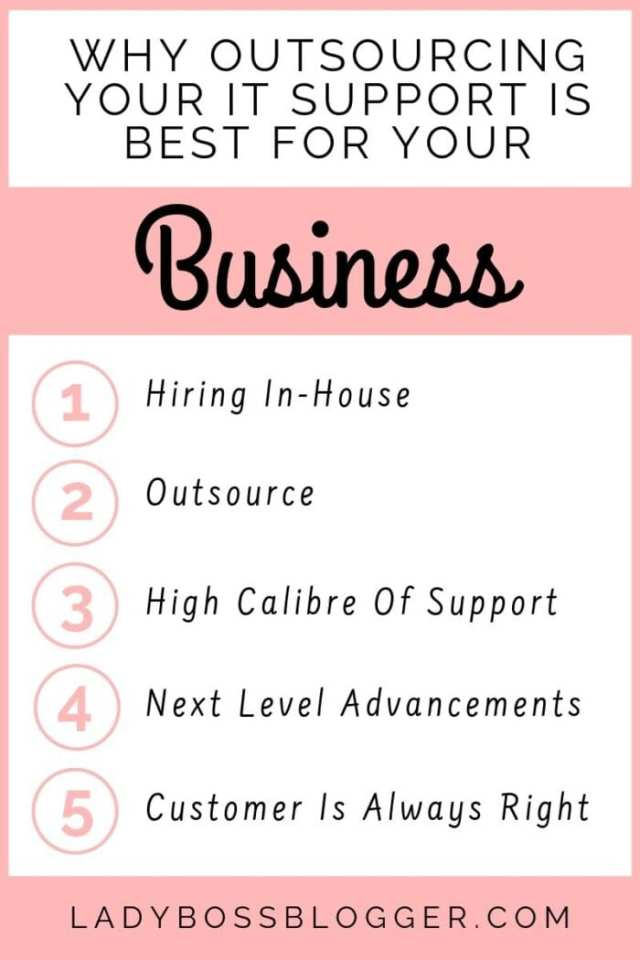 outsourcing IT systems ladybossblogger