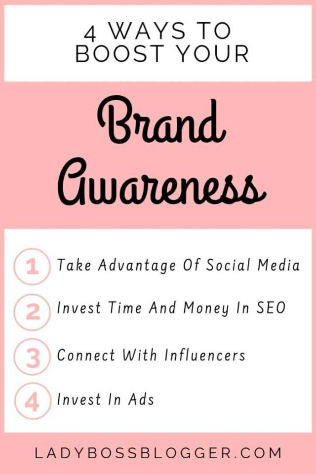 brand awareness ladybossblogger