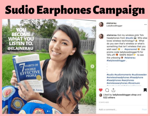 elaine rau influencer campaign4
