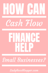 Cash Flow Finance Help Small Businesses