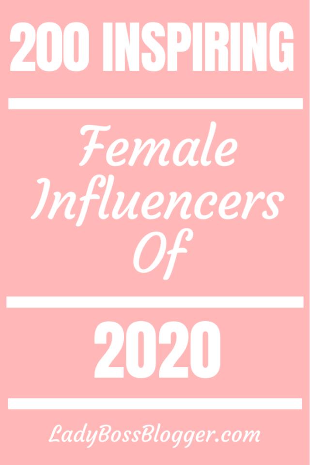 inspiring female influencers ladybossblogger.com
