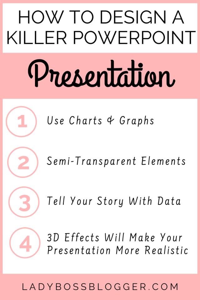How TO Design A Killer Powerpoint Presentation ladybossblogger.com (2)