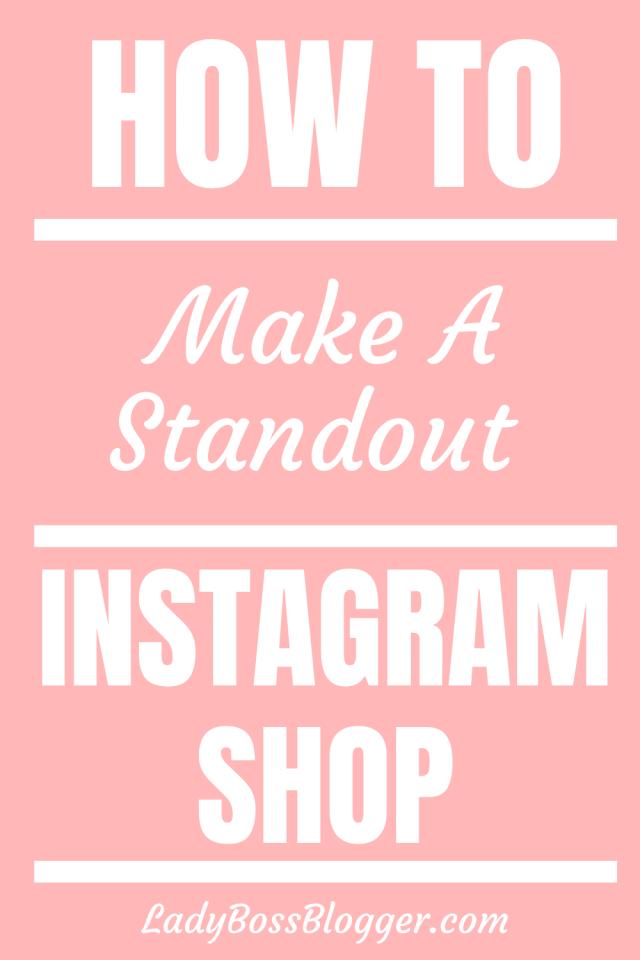 Instagram Shop LadyBossBlogger.com