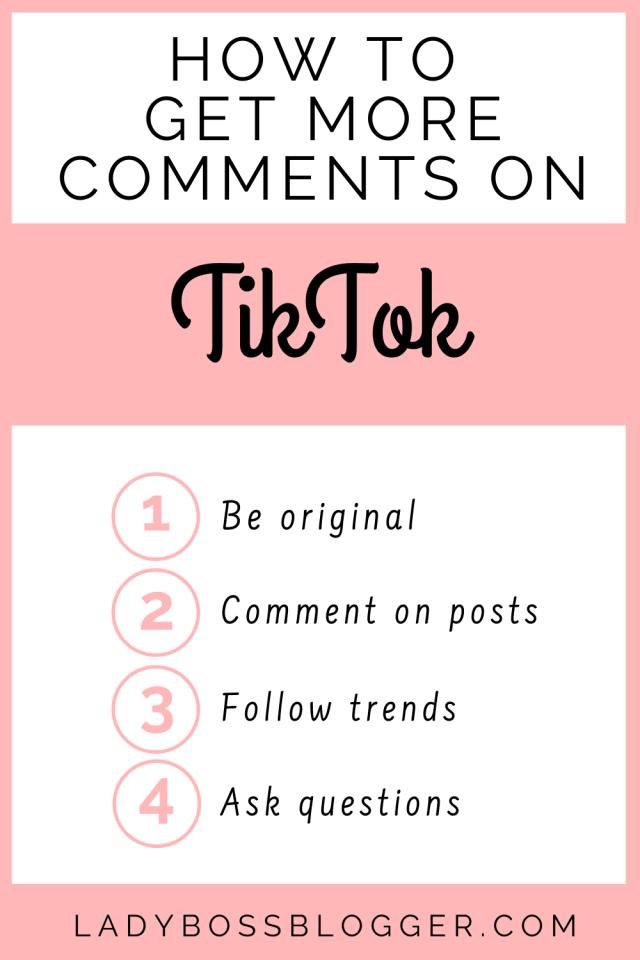 Comments TikTok LadyBossBlogger.com