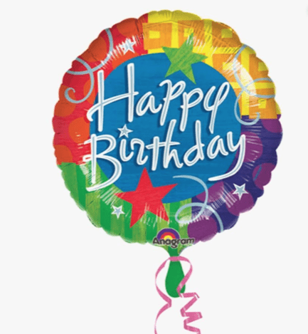 Happy Birthday Mylar Balloon Ladybug Florist