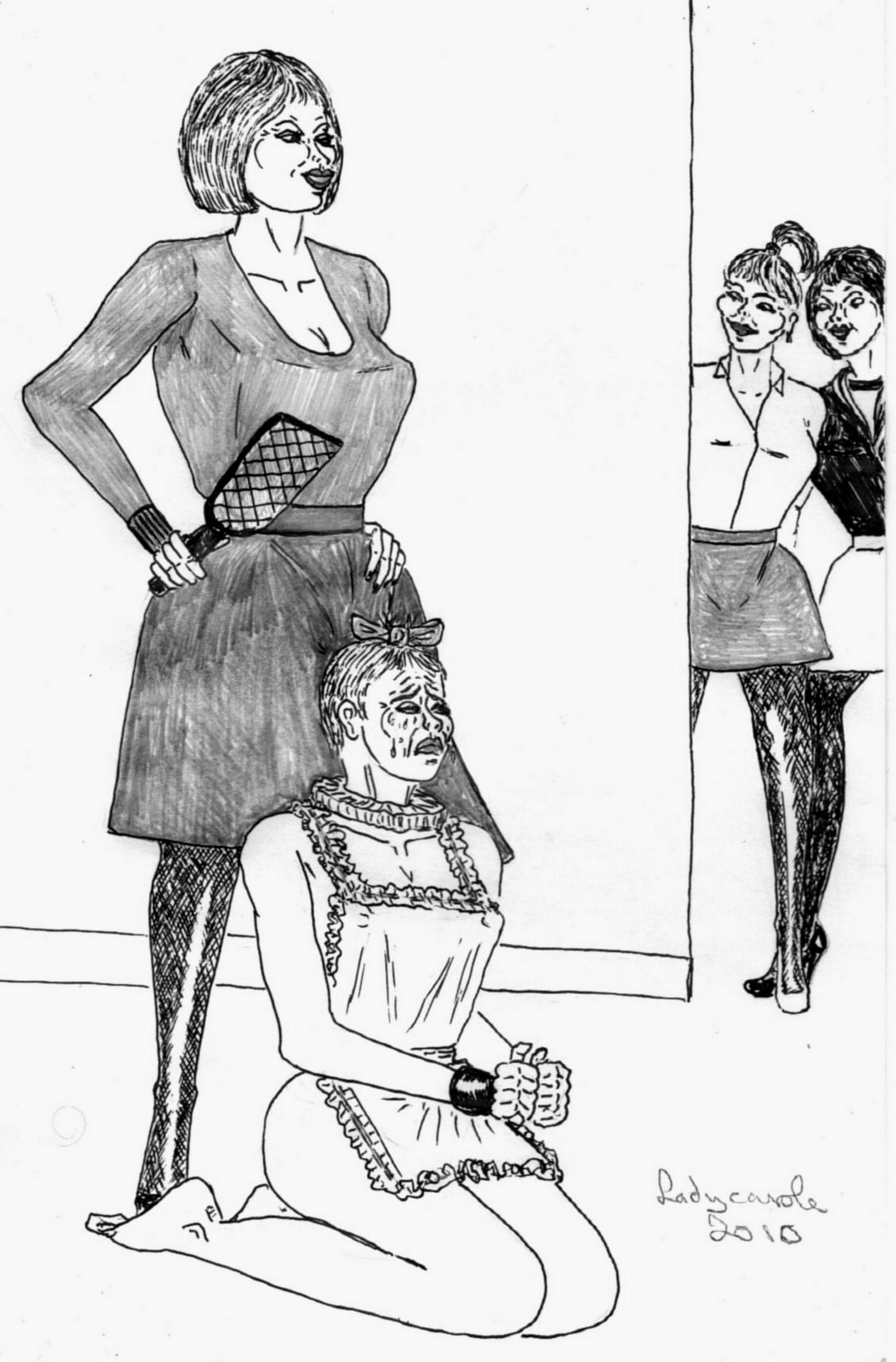 Lady carole bondage images-3263