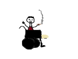 rauchender-rollstuhlfahrer