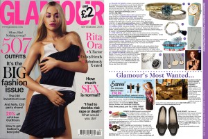 Glamour - Wearing Memories - SEPT 2015