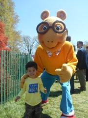 Enzo with Arthur