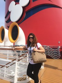 visiting the Disney Wonder