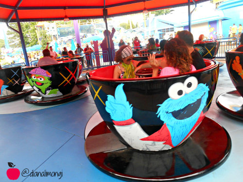 teacups Sesame Place