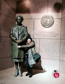 LadydeeLG and Eleanor Roosevelt